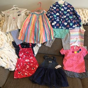 Toddler Carter's and Osh Kosh NEW